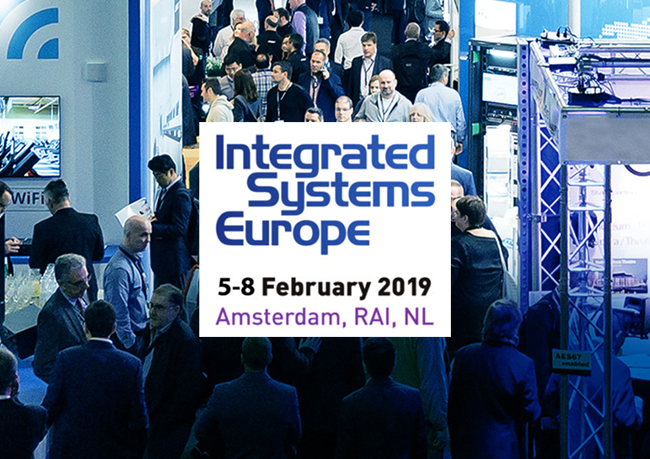 ISE (INTEGRATED SYSTEMS EUROPE) 2019