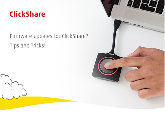 ClickShare wireless presentation system (English version only)