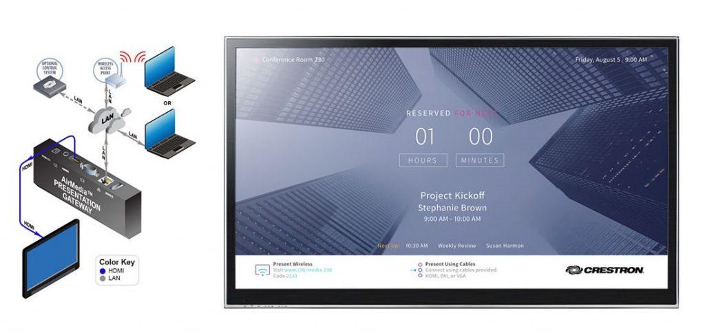 Crestron Airmedia-wireless Presentation In Smart Office