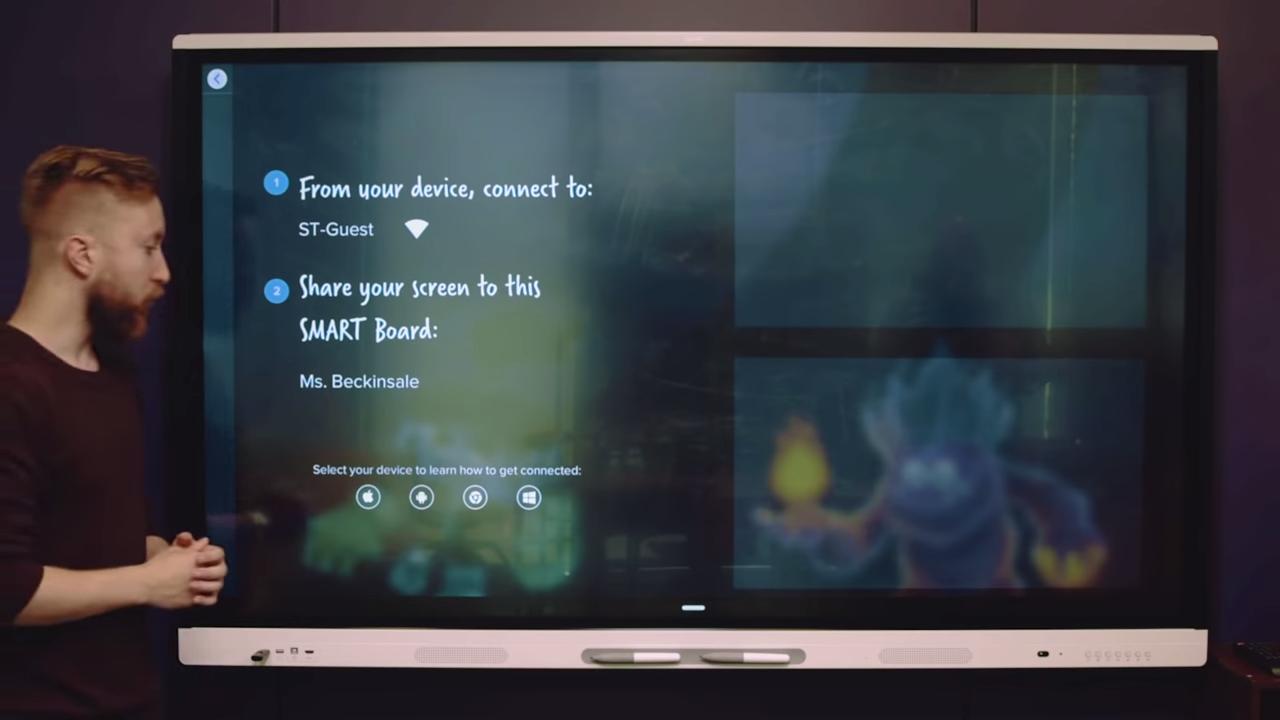 SMART Board® MX series-iQ embedded computing2