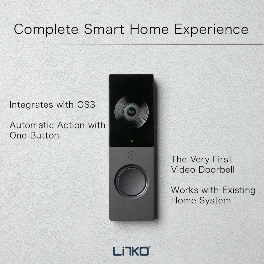 Control4_Chime video doorbell-complete smart home experience
