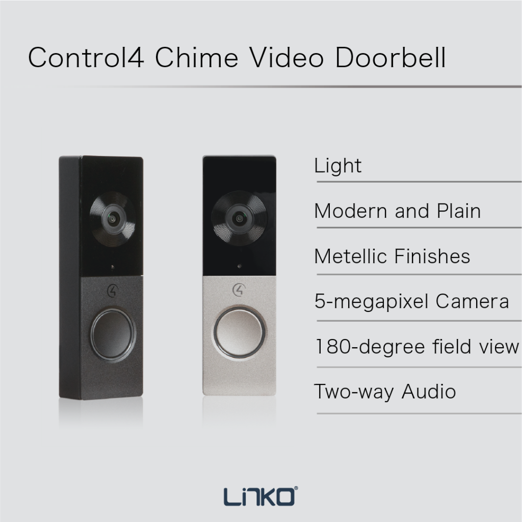 Control4_Chime video doorbell-intro