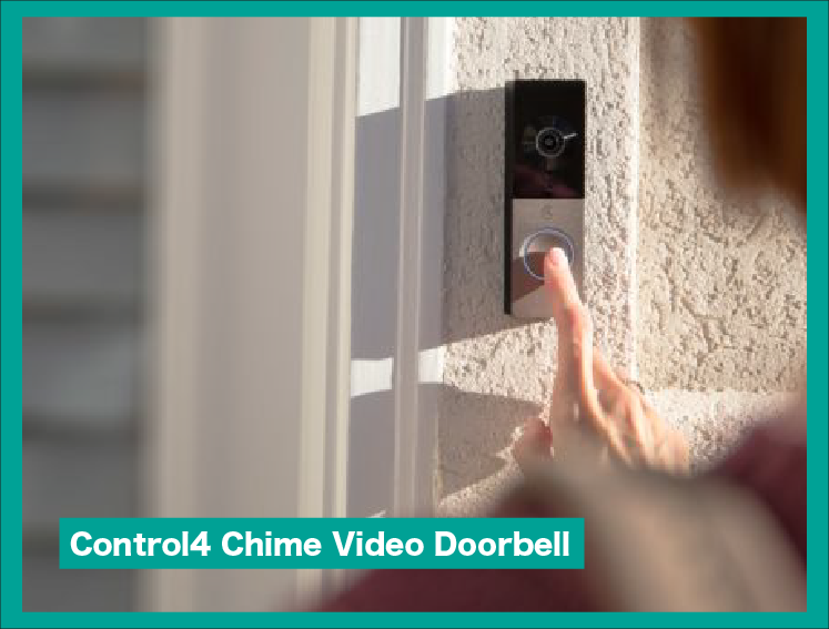 【Control4】Chime Video Doorbell|Unprecedented Home Security Experience