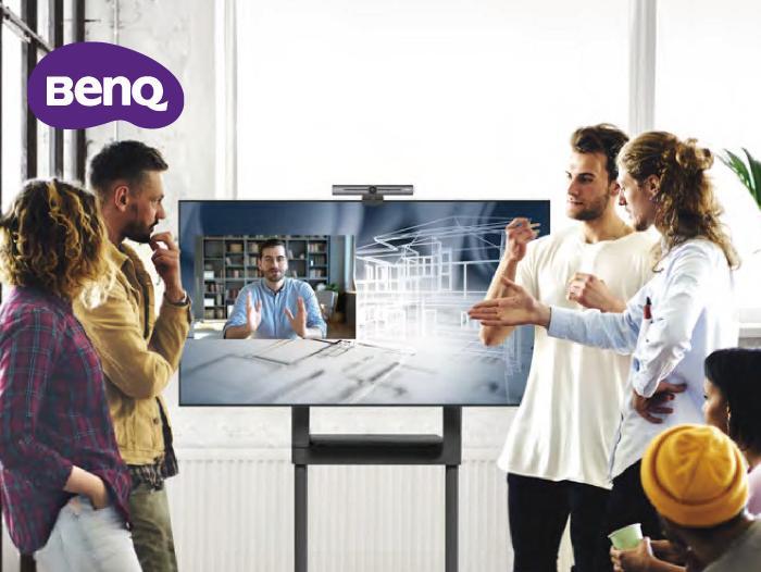 BenQ CS系列:專業中型會議室方案 無線顯示設備